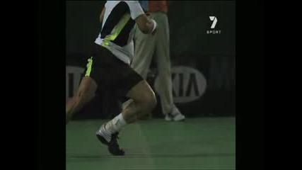 Australian Open На Забавен Кадър