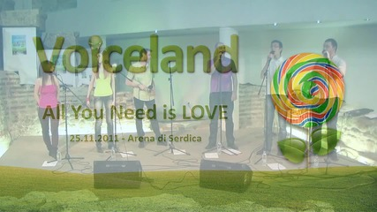 All You Need is Love Acappella cover by Voiceland