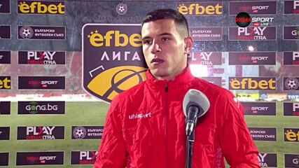 Димитър Костадинов: Изпуснахме победата