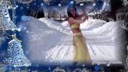 Завораживающий восточный танец на снегу