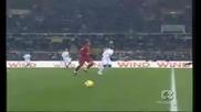 David Beckham Roma vs Milan