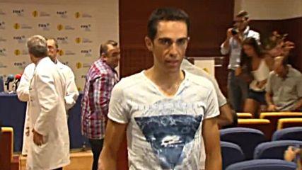 Контадор няма да участва на игрите в Рио