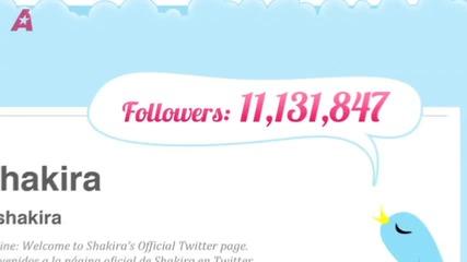 Топ 10 Знаменитости на Tweeter за 2011 г.