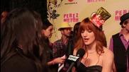 Bella Thorne Interview - Perez Hilton's Birthday Party