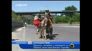 Господари на Ефира - Белгиец Обиколи България с Магарето Си