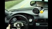 Бегачка Honda Civic Turbo !
