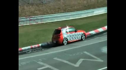 Бмв M135i 2012 Шпионско видео в Nurburgring