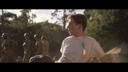 """Капитан Америка: Първият отмъстител - откъс """"граната"""""""