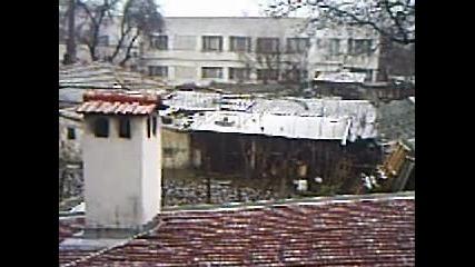 23.1.2011 В град Каспичан вали сняг