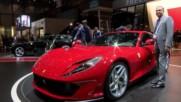 Кралят на Женева: Ferrari 812 Superfast в цялото му великолепие