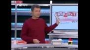 Господари на ефира - яки гафове на перогесор Вучков и Милен Цветков (: