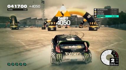 Dirt3 Drift Tutorial Going Platinum!