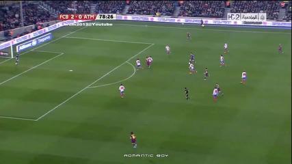 Барселона 3 - 0 Атлетико Мадрид [05.02.2011] ( Всички голове )