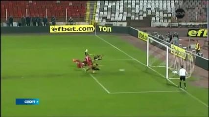ВИДЕО: ЦСКА победи Ботев с 1:0