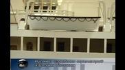 Русенец направи огромен Титаник от хартия