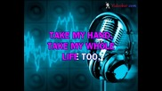 Elvis Presley - Cant Help Falling In Love (karaoke)