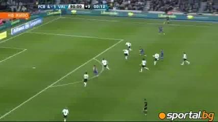 Меси съсипа Валенсия с четири парчета ( Barcelona - Valencia 5-1 )