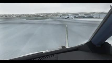Fsx Landing in Ksfo!