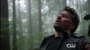 Arrow Stunt Series: Oliver and Thea vs. Slade
