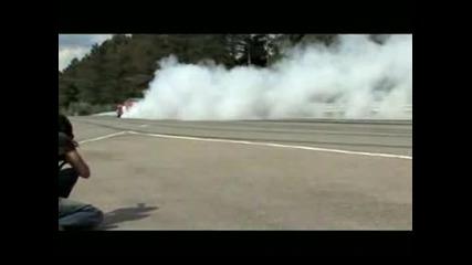 2009 corvette zr1 burnout