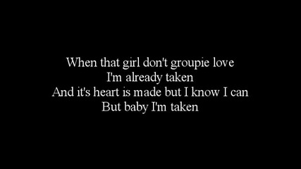Trey Songz - Already Taken [lyrics]