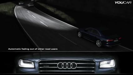 Как са устроени фаровете на Audi S8 Matrix Led headlight