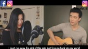 Bts - Lie _ English Cover by Janny ft. Leonguitar