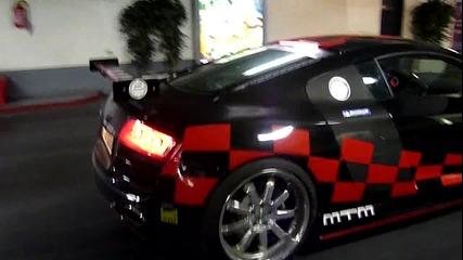 Зверско Audi R8 Mtm Gt3-2