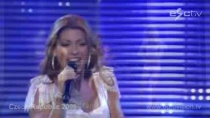Чехия - Песен За Евровизя 2008