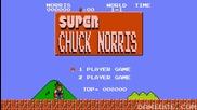 Chuck Norris vs Super Mario Bros (смях)