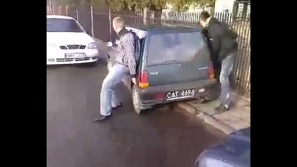 Най-удобната за паркиране кола, а може би преносима