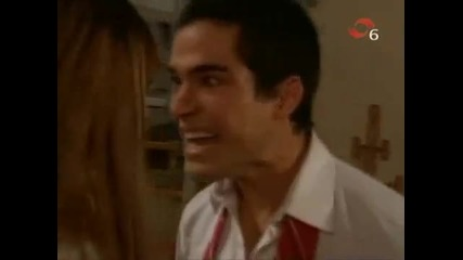 Mia y Miguel - first kiss