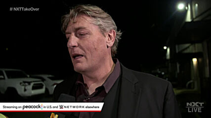 William Regal thinks NXT needs a change: NXT TakeOver: In Your House (WWE Network Exclusive)