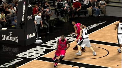 Nba2k13 Alley oop + Dunk . Derrick Rose!