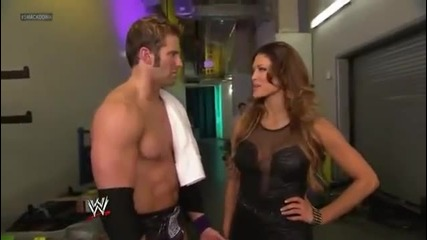 Eve Torres and Zack Ryder Segment - Wwe Smackdown 3_23_12
