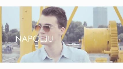 !!! Aleksa Perovic 2015 - Voleti ne prestajem (official Lyrics Video) - Prevod