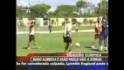 Ronaldinho Vs Cristiano Ronaldo Freestyle