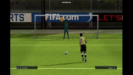 Fifa 10 Practice (world class)