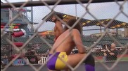 Джей Лидъл срещу Мат Тейвън (мач в клетка)