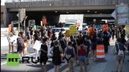 USA: Black Lives Matter activists descend on Capitol Hill