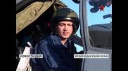 Военни летци освояват вертолетите Ми-35м