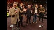Wwe Raw 2006.10.30 Rated Rko, Eric Bischoff, Vince Mcmahon, Jonathan Coachman segment