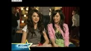 Demi Lovato and Selena Gomez Access Hollywood Interview