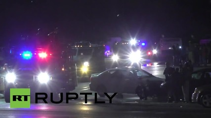 USA: Multiple shots fired during Ferguson rally one year after Mike Brown's death