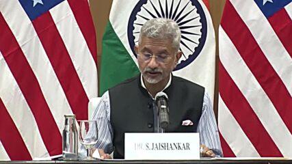 USA: Blinken pledges $25 million vaccination aid during India visit