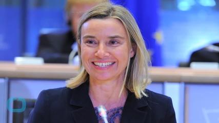 EU's Mogherini Says Has not Given up Hope of U.N. Libya Backing