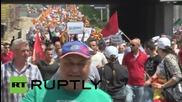 Македония: Хиляди протестират в Скопие, настояват за оставката на правителството