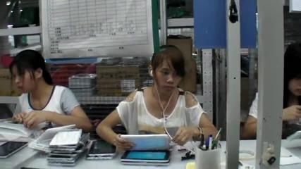 Ето как се сглобяват таблети в Китай