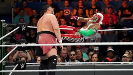Rey Mysterio grounds Samoa Joe with aerial attacks: WWE Money in the Bank 2019 (WWE Network Exclusive)