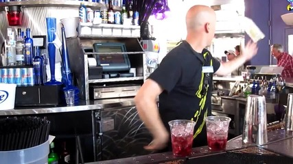 Flippy the bartender/las Vegas